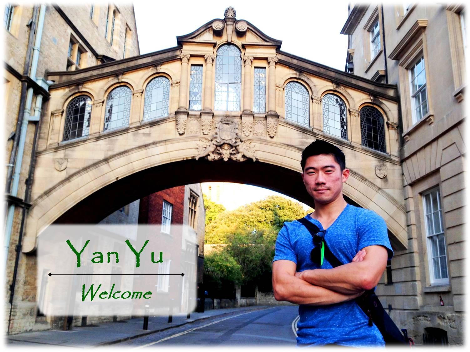 Welcome to Yan Yu